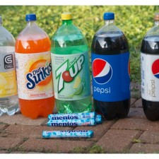 Featured Soda and Mentos Experiment