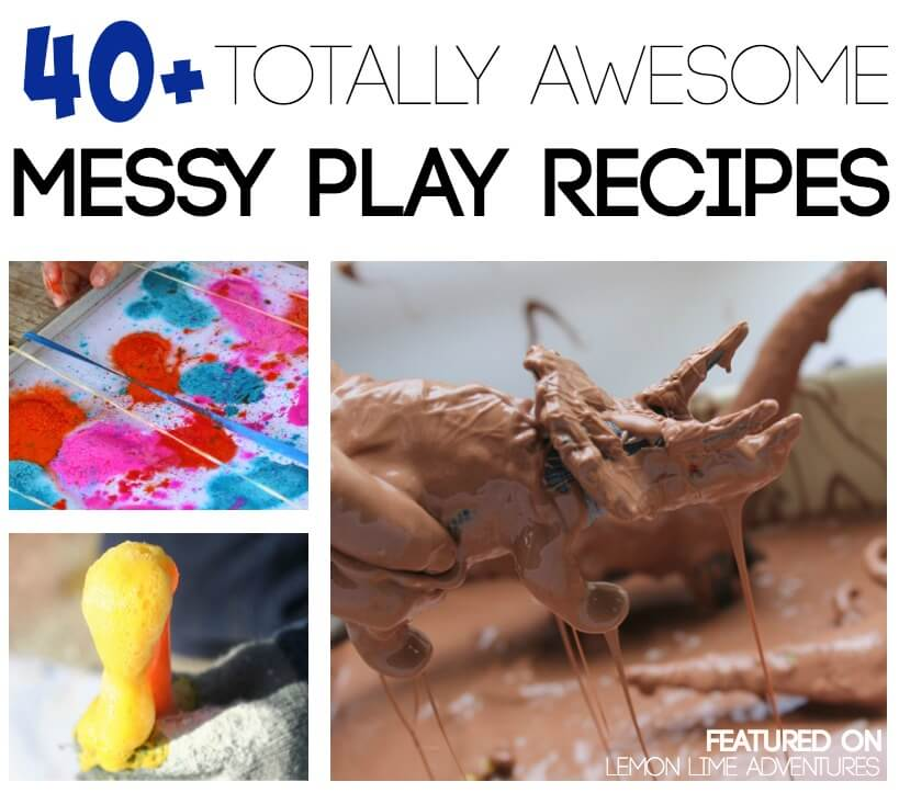 Messy Playroom: The Most Awesome Messy Play Recipes You Can Find