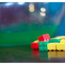 Sensory Play with Lego