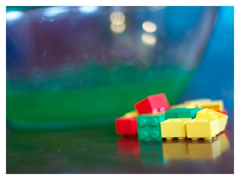Sensory Play with Lego