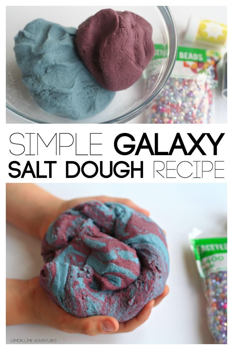Simple Galaxy Salt Dough Recipe