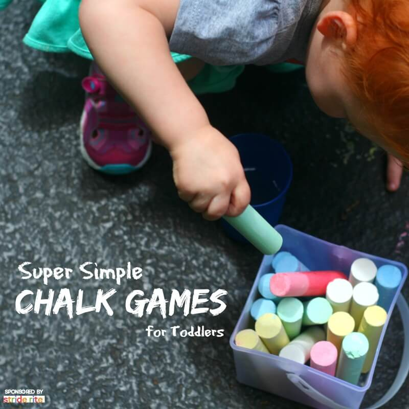 Super Simple Chalk Games Toddlers