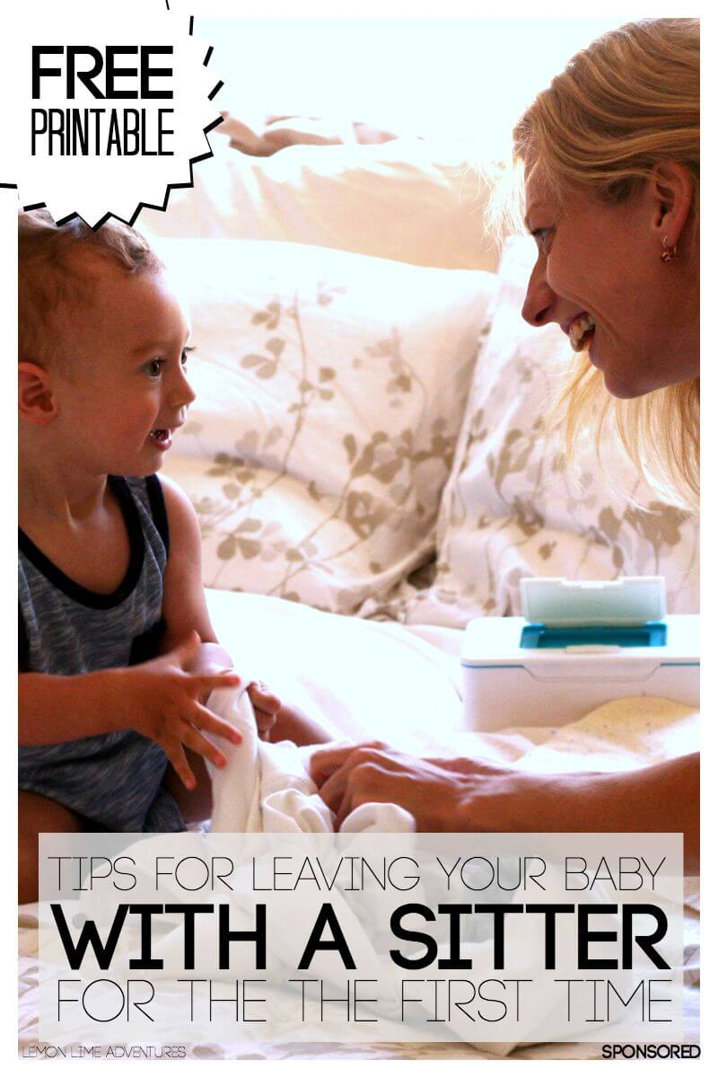 Tips for Leaving Your Baby for the First Time & Free ...