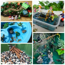 Sensory Play with Small Worlds