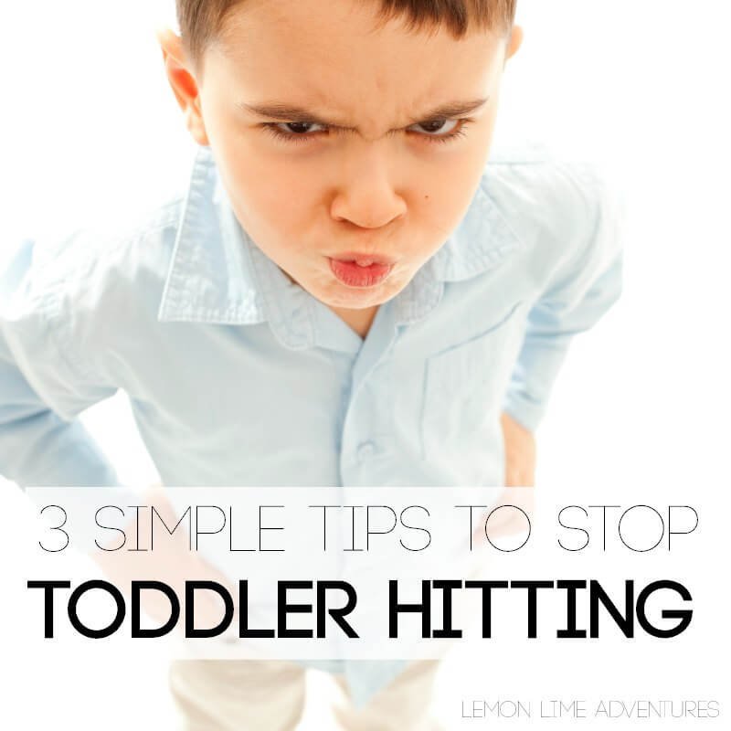 how to stop a toddler from hitting square