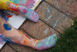 15 Must Try Messy Play Activities Using Your Feet