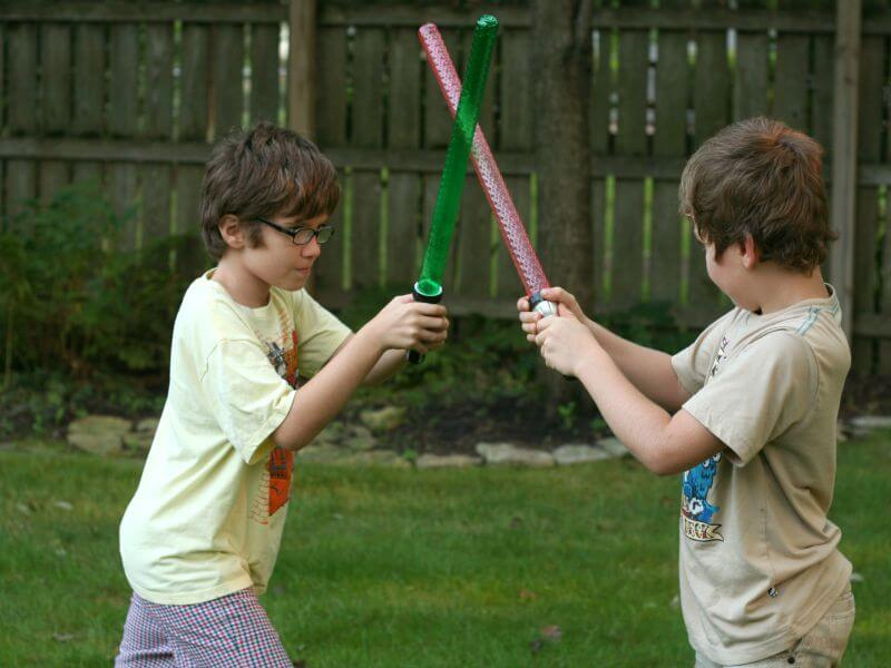 DIY Lightsabers the Light up