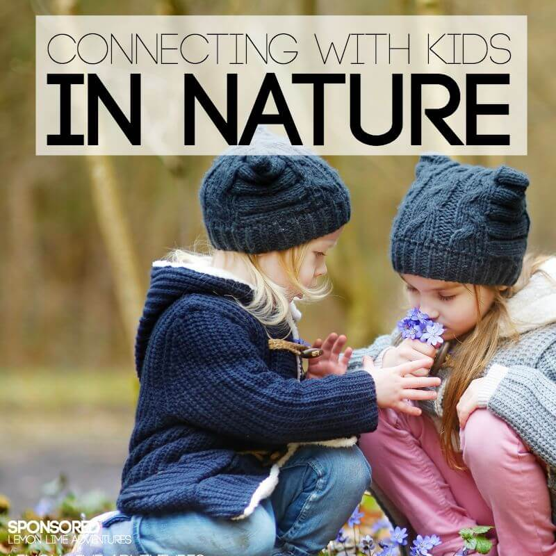Connecting with Kids in Nature Adventures