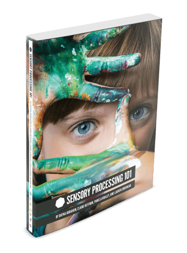 Small Front Cover Sensory processing 101