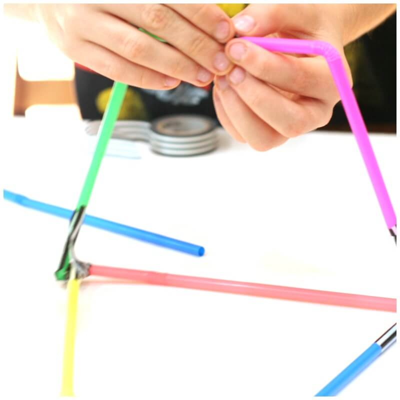 Designing a Straw Tower with only 10 Straws