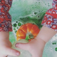 Fizzing Science Experiment for Toddlers