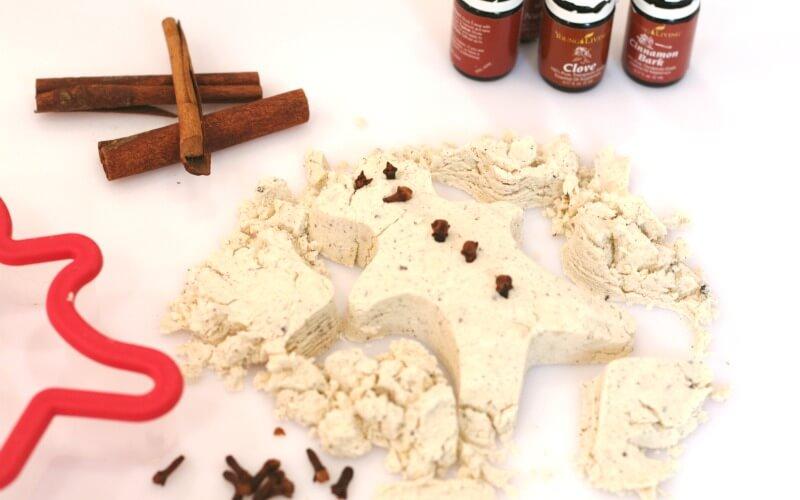 Gingerbread Cloud Dough