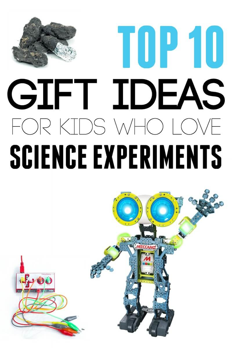 Top 10 Gift Ideas for Kids who Love Science Experiments