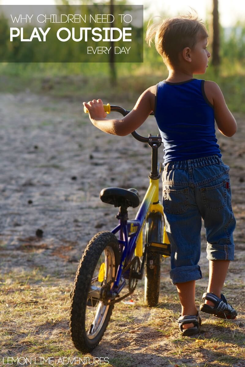 Why Children need to play outside every day