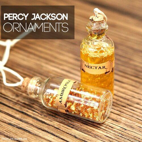 Ambrosia and Nectar Percy Jackson Ornaments