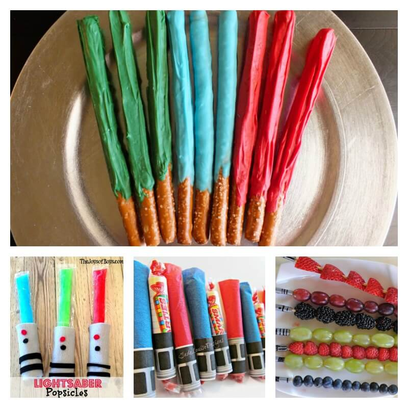 Edible Lightsaber Snacks