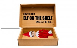 5 Simple Ways to Shelf the Elf | End the Elf on the Shelf Antics Once and for All