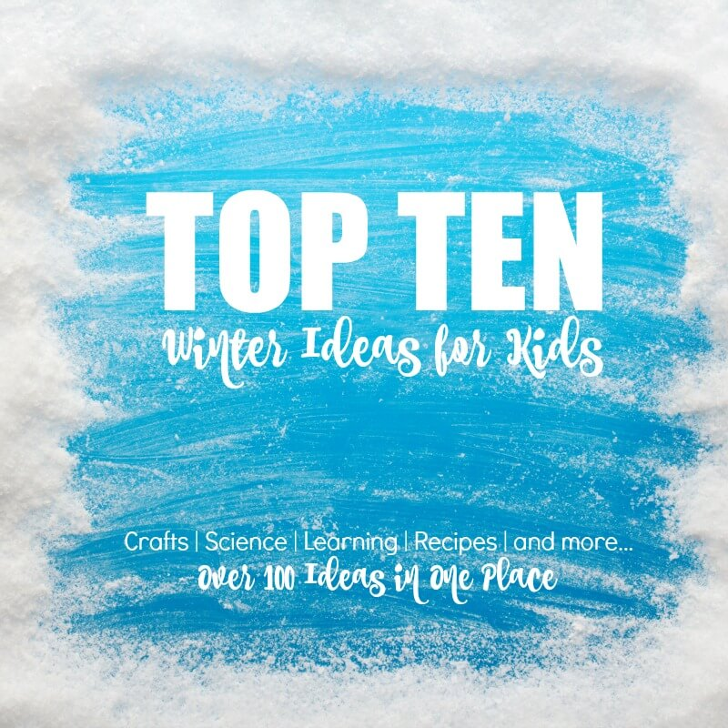 Top Ten Winter Ideas for Kids