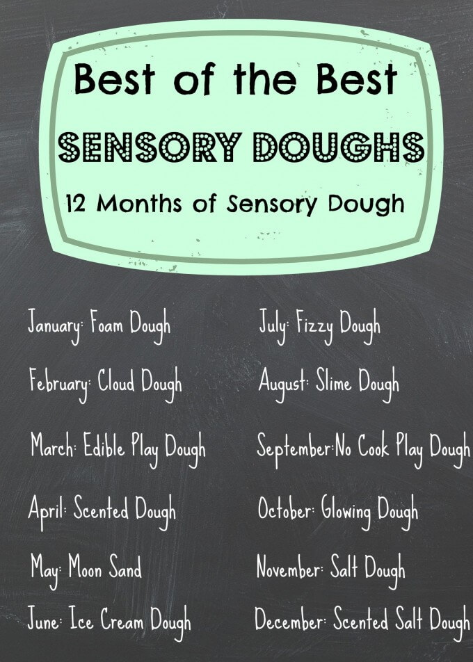 12 months sensory dough 2014