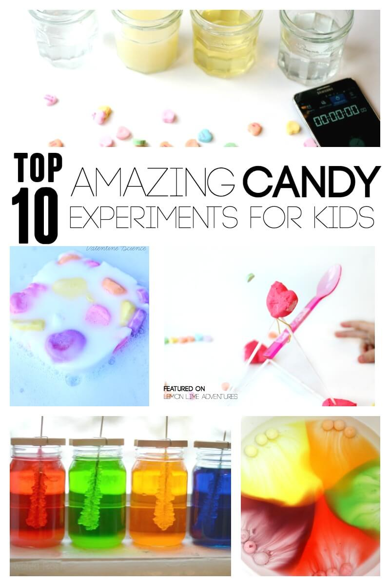 Top Ten Amazing Candy Experiments