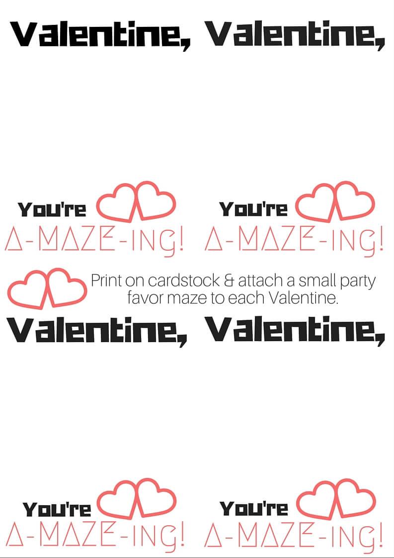 Valentine, (4)