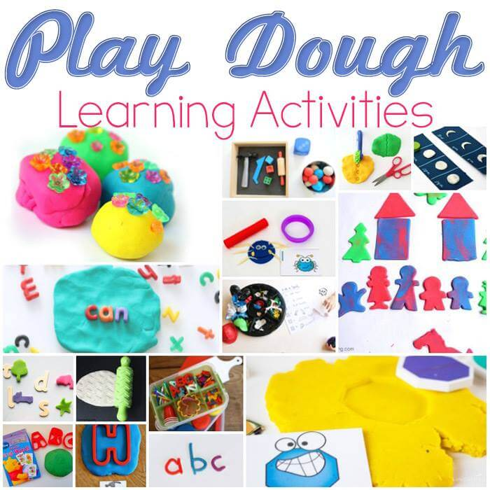 Learning with Play Dough Activities