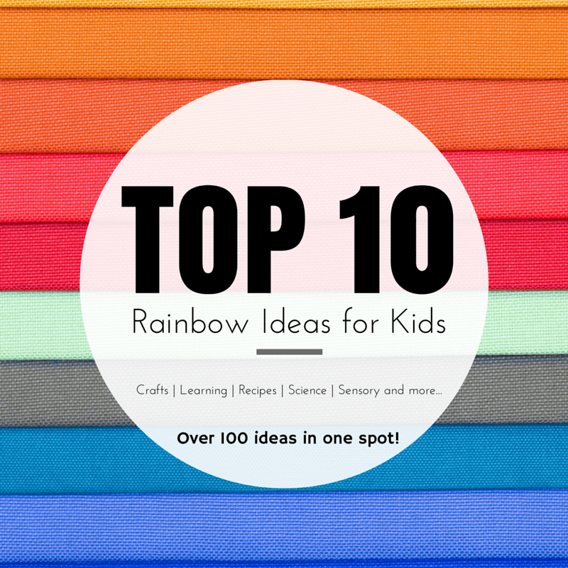TOP 10 rainbow Activities for Kids