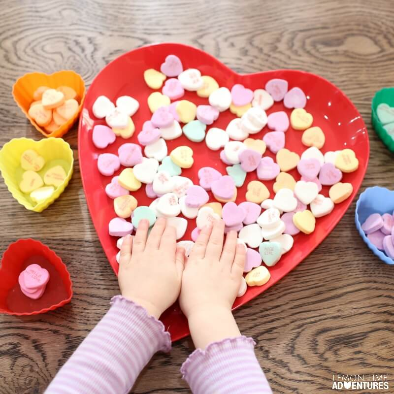Toddler Simple Activities for Valentines Day