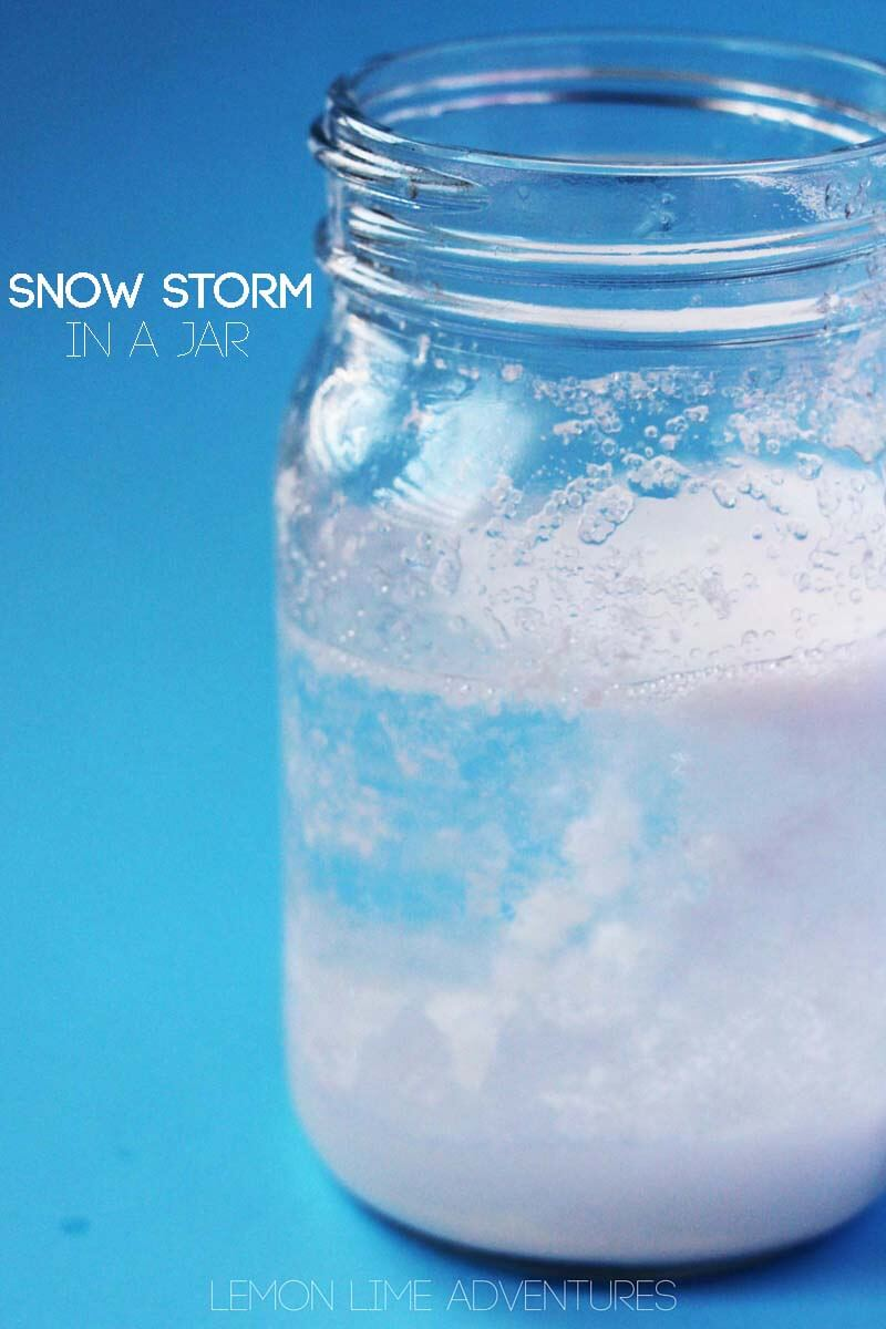 snow storm in a jar pin