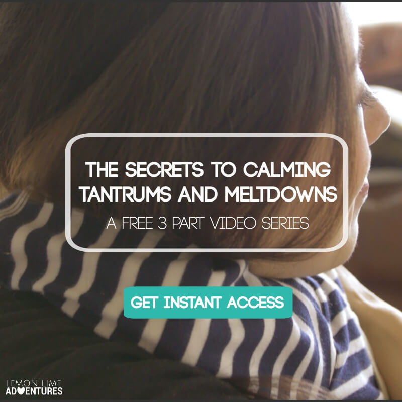 Secrets to Calming Tantrums and Meltdowns 3 Part Video Series