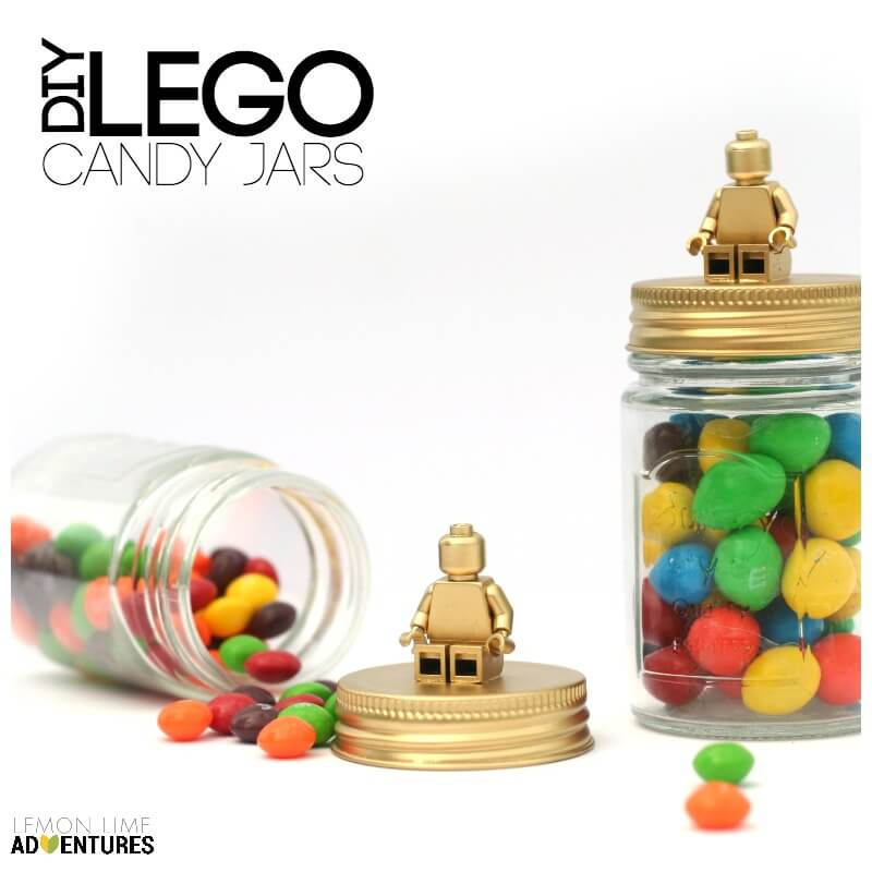 DIY Candy Jar with Toys