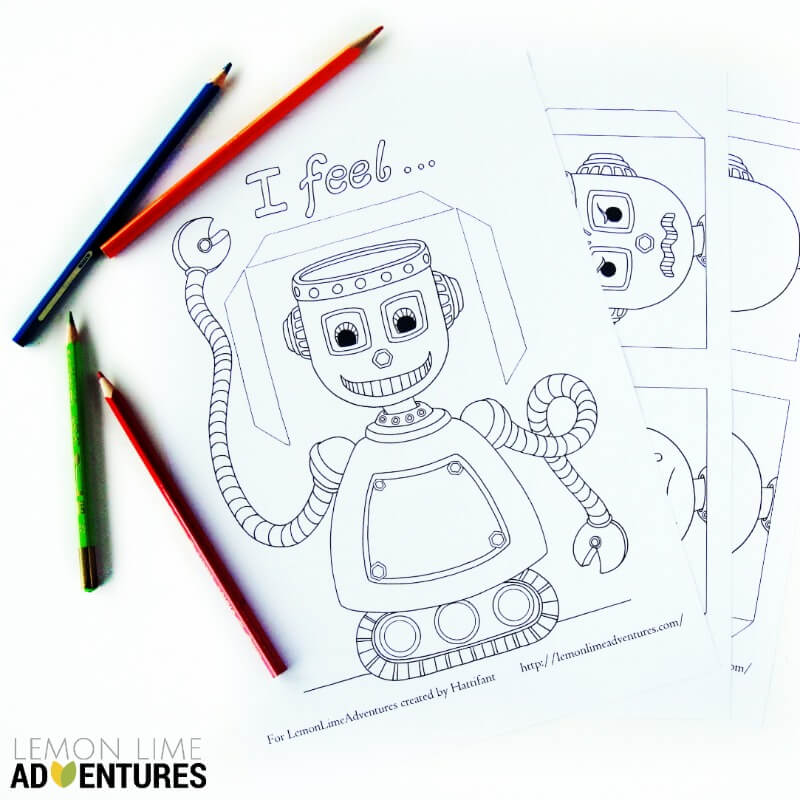 Emotional Robot Activity for Kids