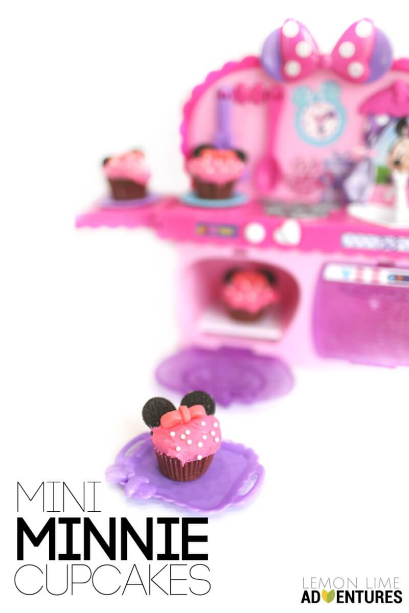 how to make minnie mouse cupcakes with oreos