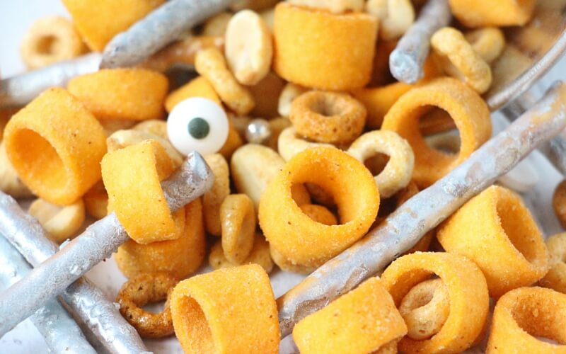 Robot Nuts & Bolts Trail Mix