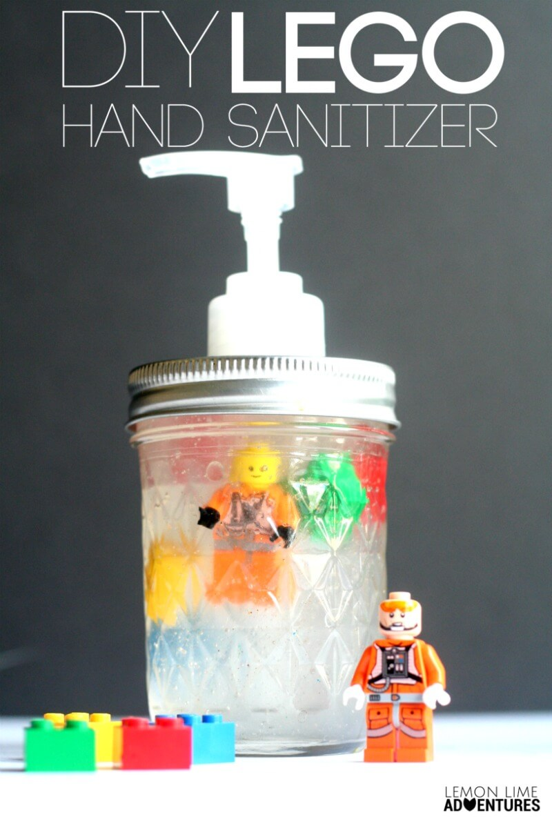 DIY Lego Hand Sanitizer