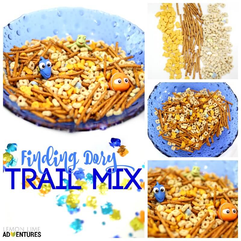 Finding Dory Trail Mix Recipes