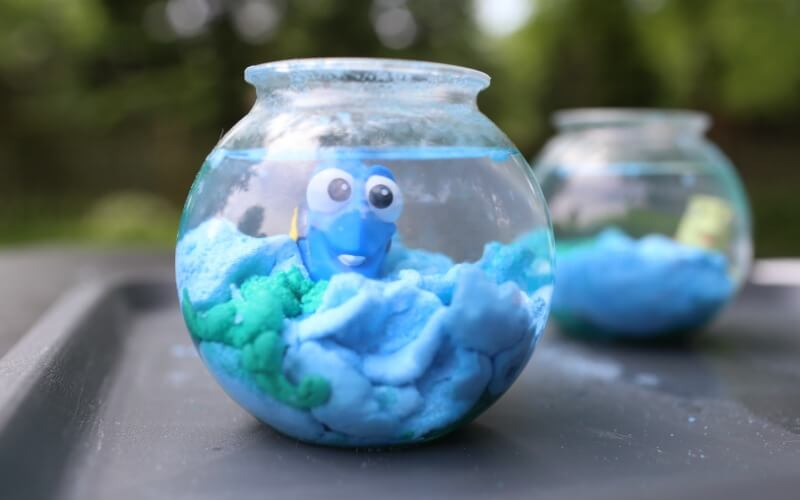 Magic Sand Finding Dory Themed
