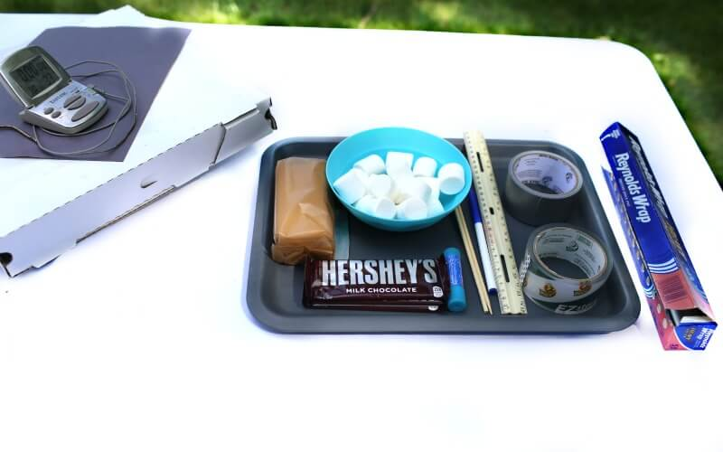 Summer Science Experiments | Solar Oven Smores
