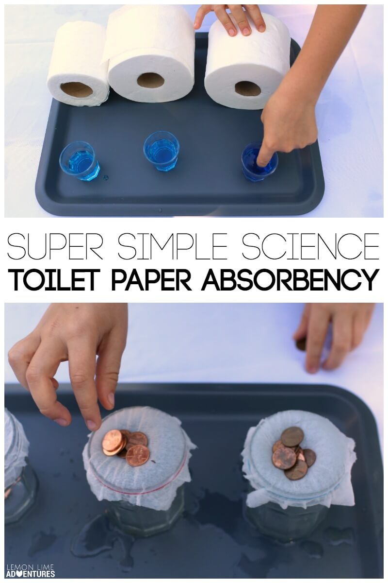 paper towel absorbency experiment Fun absorbing experiment designed to explore absorption with children science sparks, making science fun for kids a wet sponge will absorb more water than a dry sponge as water molecules are highly attracted to one another.