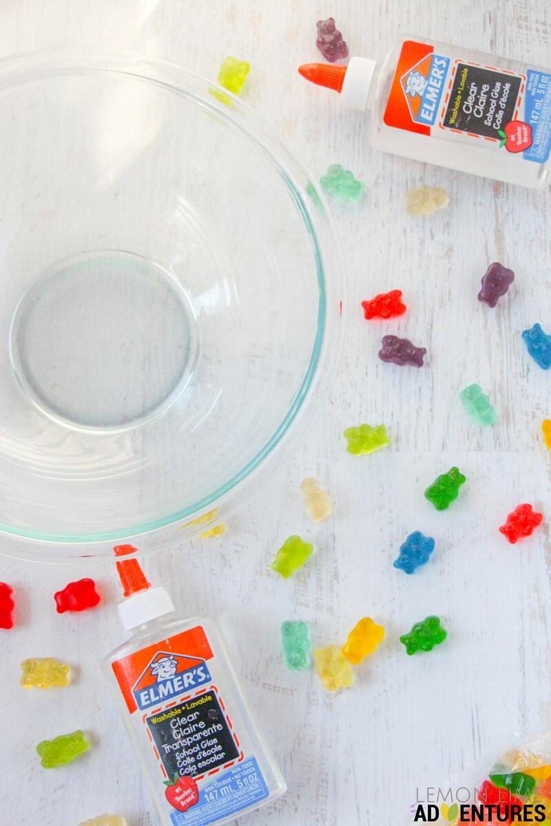 gummy bear slime (1)