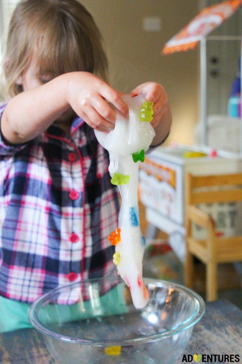 gummy bear slime (2)