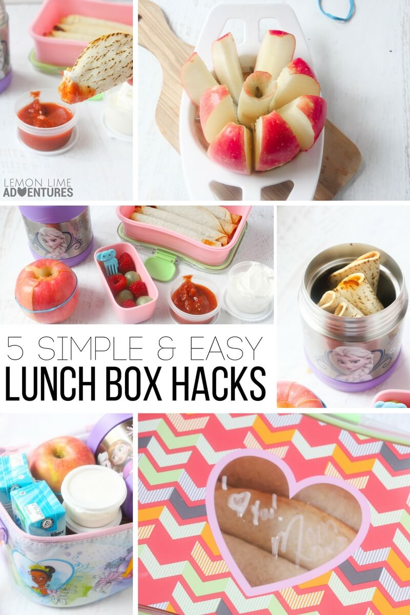 5 Simple and Easy Lunch Box Hacks