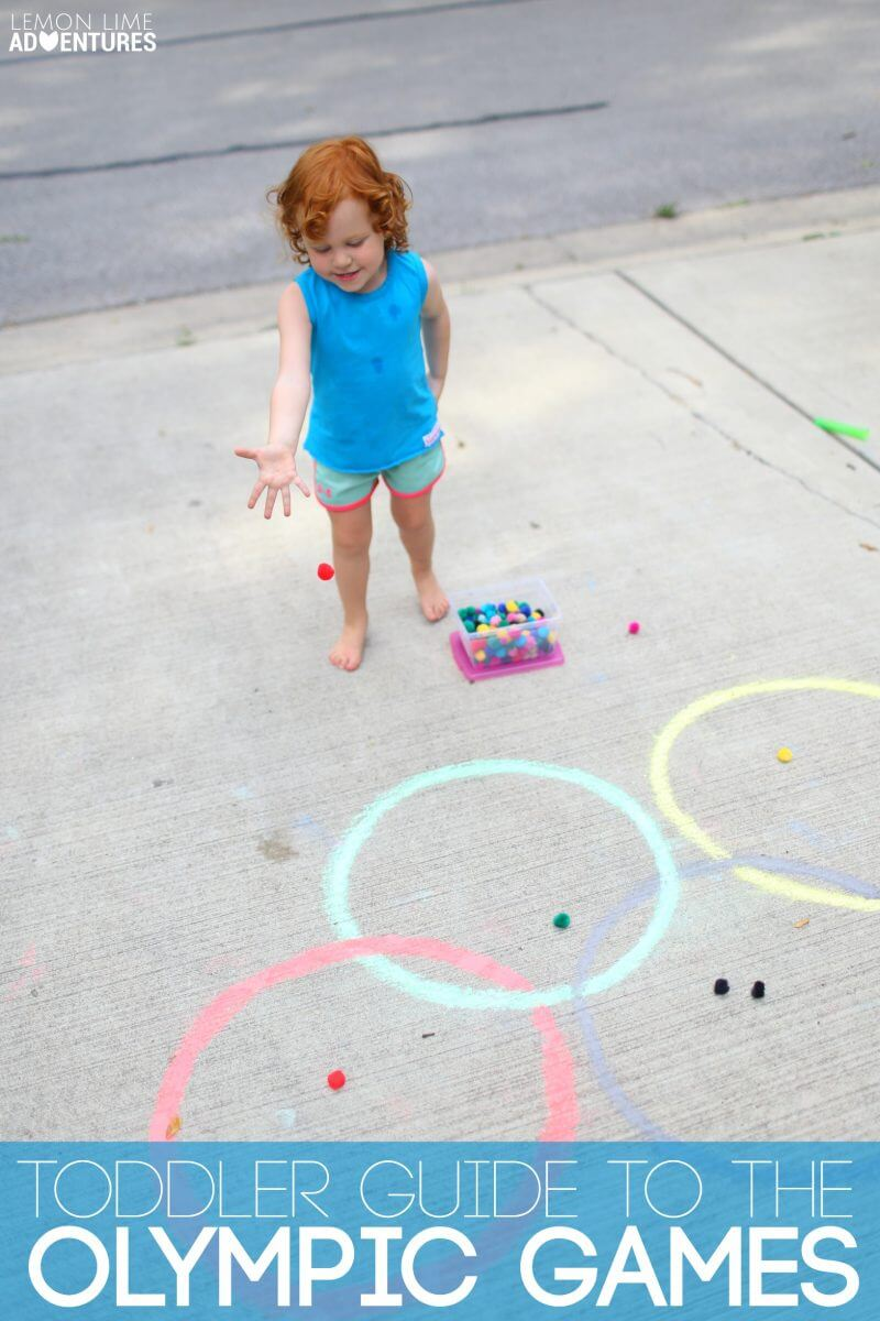Toddler Guide to the Olympic Games