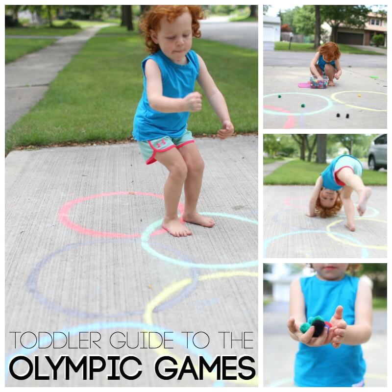 Toddlers Guide to the Olympic Games