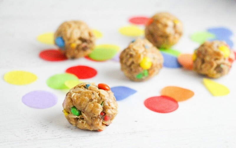Totally Tasty Kid-Made M&M Energy Bites