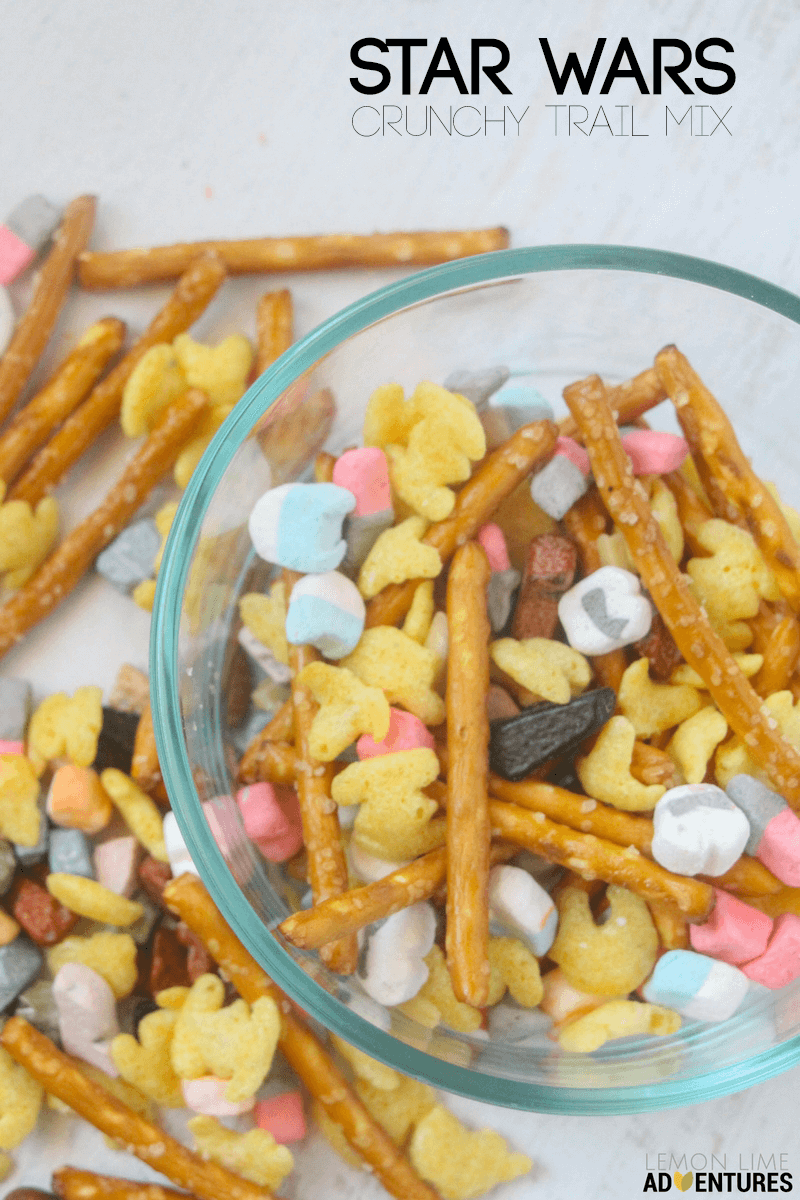 Super Crunchy Star Wars Trail Mix- Perfect for any Star Wars Party Planner