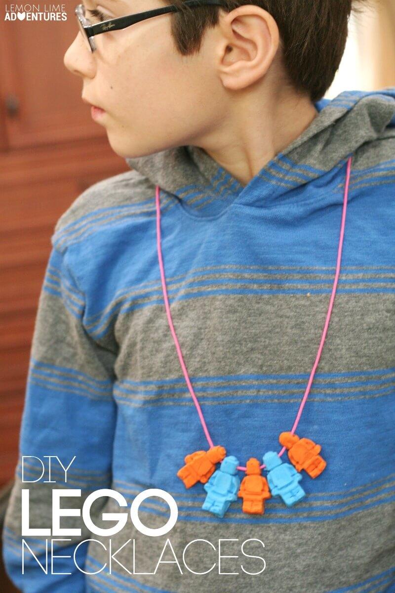 DIY LEGO Necklaces