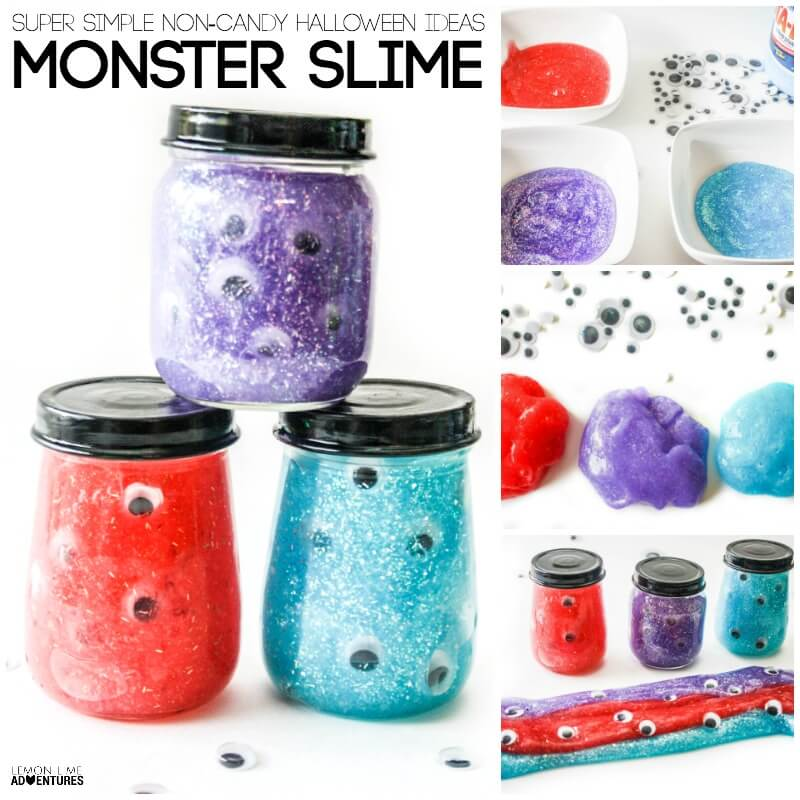 Monster Slime: Simple Non-Candy Treat for Kids