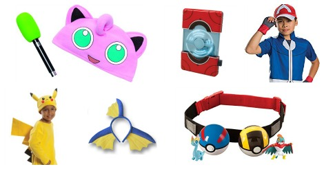 Totally Awesome Pokemon Costumes for Kids