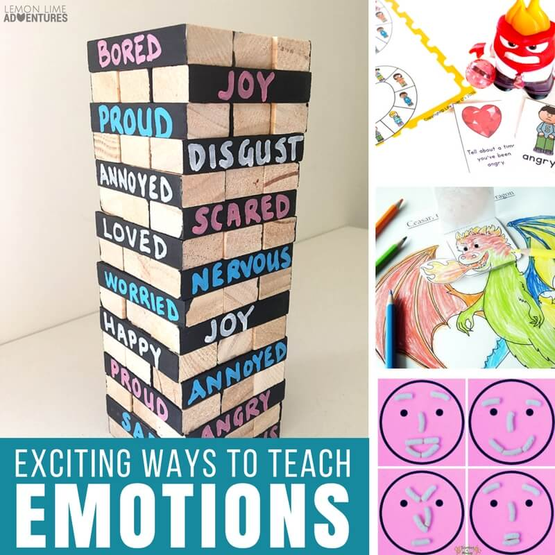 Exciting Ways to Teach Emotions to Kids